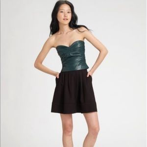 Marc Jacobs leather bustier